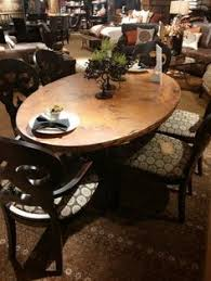Copper Dining Room Tables by Arabesque Small Oval Copper Table Oh Mama A Copper Dining Table