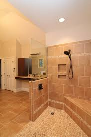 accessible homes stanton handicapped master bathroom with roll in
