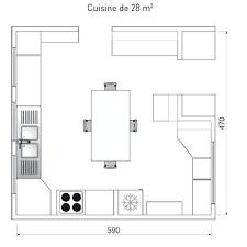plan cuisine l amenagement cuisine 15m2 cuisine plan cuisine pour cethosia me