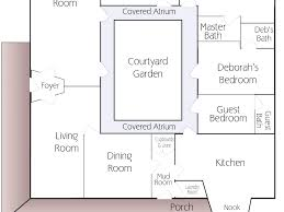 spanish house plans with courtyard interior courtyard house plans evolveyourimage