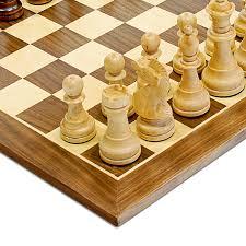 Chess Board Amazon Amazon Com We Games Traditional Staunton Wood Chess Set With