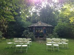 Outdoor Furniture Asheville by Weekend Wedding At Asheville Botanical Gardens Elope Asheville