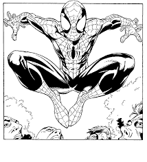 coloring spiderman coloring pages 62