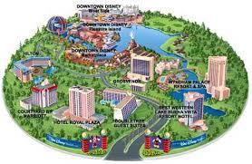 walt disney resort map walt disney resort logos explained
