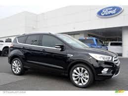 Ford Escape Titanium - 2017 shadow black ford escape titanium 112842238 gtcarlot com