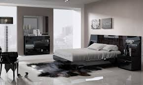 Diamante Bedroom Set Black Lacquer Bedroom Furniture Izfurniture