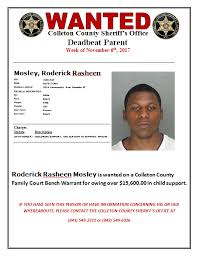 Bench Warrant Child Support Colleton County Sheriffs Office Home Facebook
