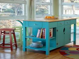 tall kitchen island table counter height kitchen tables with storage ocean blue colour
