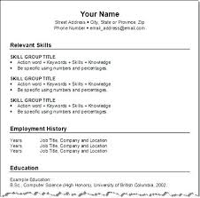 how to format a resume in word how to create a resume on word 2007 resume template ideas