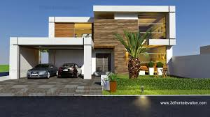 Modern Elevation 3d Front Elevation Com Valancia Modern Contemporary House Design