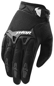 black motocross boots thor youth spectrum gloves revzilla