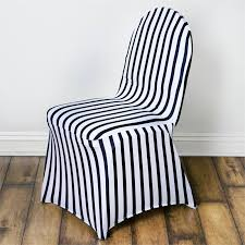 black and white chair covers striped spandex chair cover black white efavormart