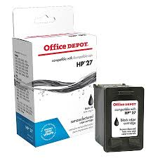 home depot 2105 black friday ad office depot brand 27 hp 27 remanufactured black ink cartridge by