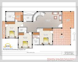 beautiful duplex home plan design contemporary interior design