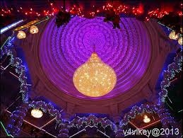 internal decoration of prem mandir vrindavan wallpaper tadka