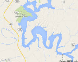 map kentucky lakes rivers green river lake house and cabin rentals lakehousevacations