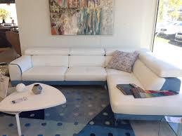 canapé d angle cuir et tissu canapé d angle dallas cuir et tissu toulon mobilier de