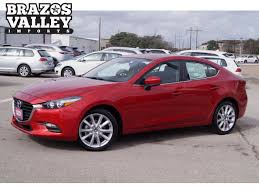 sedan 4 door 2017 mazda mazda3 4 door touring sedan in bryan 117983