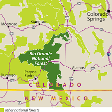 Map Of Durango Colorado by File Rio Grande National Forest Locator Map Svg Wikimedia Commons