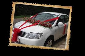 wedding car decorations reference for wedding decoration