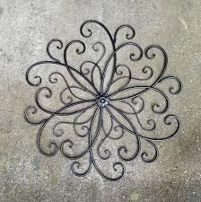 Metal Wall Art Wrought Iron Wall Decor