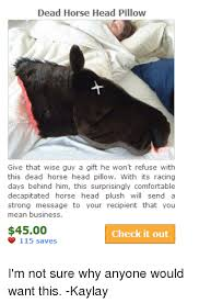Horse Head Meme - 25 best memes about head pillow head pillow memes