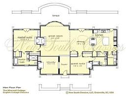 French Cottage Floor Plans Storybook Cottage House Plans Hobbit Huts To Cottage Castles