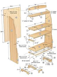 Small Wood Shelf Plans by Build Wooden Solid Oak Bookcase Plans Plans Download Small Wooden