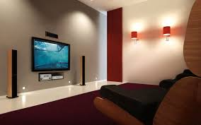 Best Home Theatre System Room Design Ideas And Decor Interior - Living room home theater design