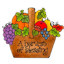 harvest blessings clip colored 2 clip