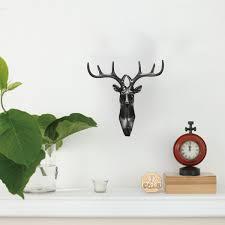 100 stags head home decor minky baby blanket deer stag head