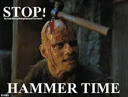 Hammer Time Meme - 432 best game of thrones memes season 4 images on pinterest game