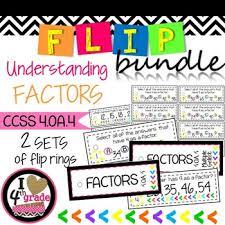 factor scoot ccss 4 oa b 4 factors students and worksheets