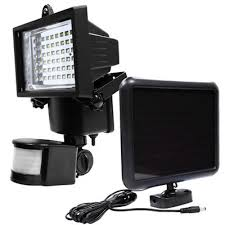 Security Flood Lights Outdoor by Led Solar Powered Motion Sensor Security Flood Light Outdoor