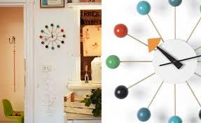 Herman Miller Clock George Nelson Ball Clock In Multicolor Hivemodern Com