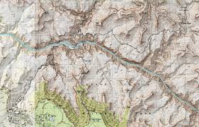 Grand Canyon Maps Earthline The American West Grand Canyon South Rim Corridor