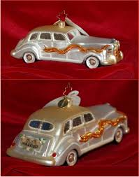 going to the chapel limousine ornament radko wedding ornaments