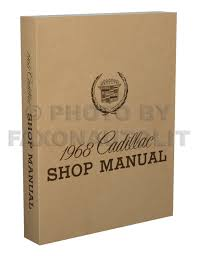 1968 cadillac repair shop manual reprint calais de ville fleetwood