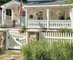 Chestnut Hill Picket and Custom Victorian Porch Railing Simsbury CT