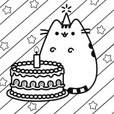 Pusheen Coloring Pages Jacb Me Color Page