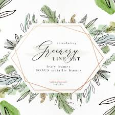 wedding invitations greenery watercolor greenery line png clipart tropical rustic
