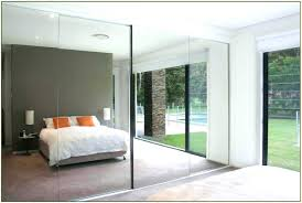 Closet Door Installation Decoration Floor To Ceiling Mirrors For Walls