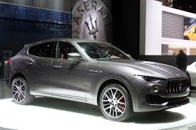 maserati levante blacked out 2017 maserati levante geneva 2016 photo gallery autoblog