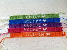 friendship bracelet with name images Fashionable how to make name bracelets custom made friendship jpg