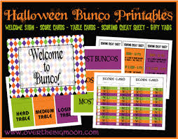 Printable Halloween Invites Fall And Halloween Free Printables At Over The Big Moon Pretty