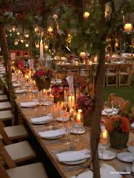 october wedding i am in with this the family tables the use of trees