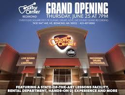 guitar center dj lights redmond guitar center grand opening photos yelp