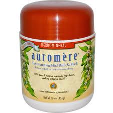 auromere rejuvenating mud bath u0026 mask 16 oz 454 g iherb com