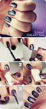 galaxy nail tutorial beautylish