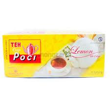 Teh Poci jual teh poci teh celup lemon 1box 25pcs berkualitas di teh